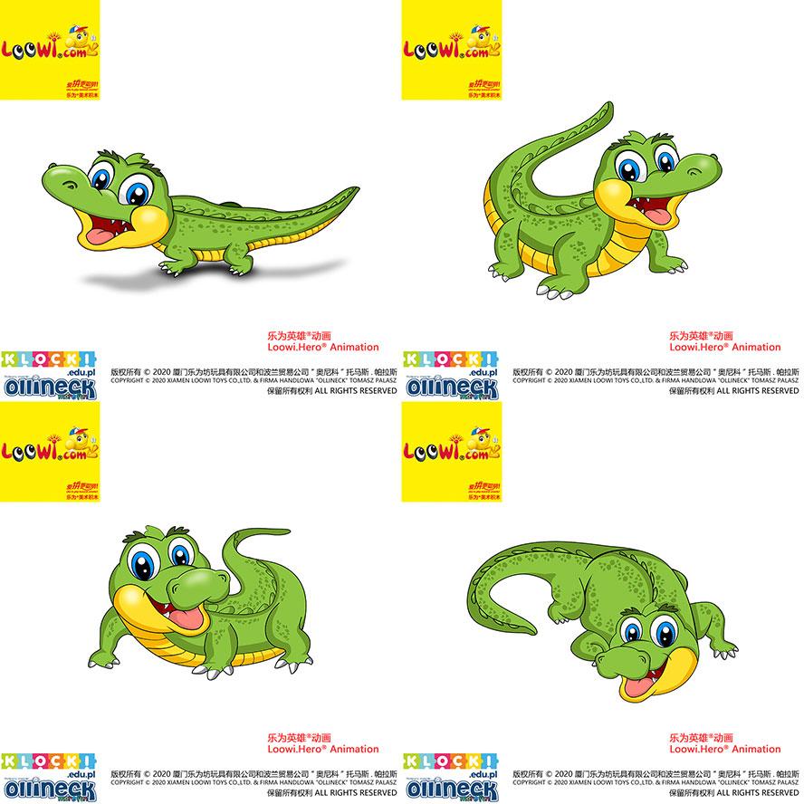 Crocodile@Loowi.Hero Animation