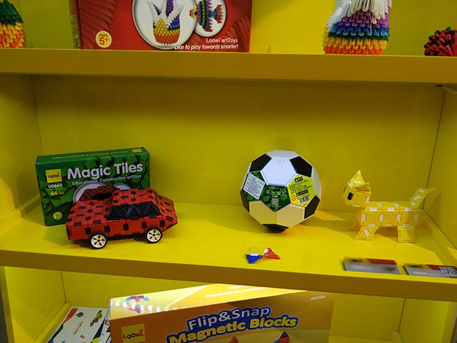乐为美术积木@2017中国玩具展2017中国幼教展