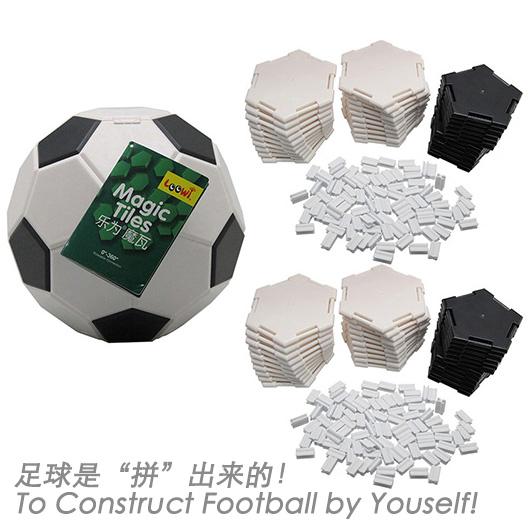 """乐为魔瓦乐为足球装,足球是""""拼""""出来的!"""