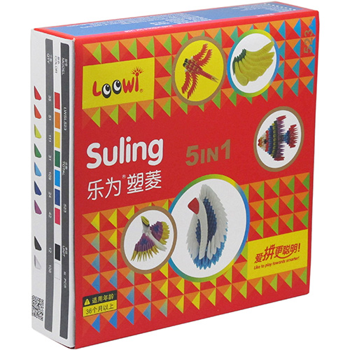 乐为塑菱,五合一彩盒装,型号:LWSL523,订货号:52312